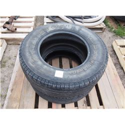 2 TIMES THE MONEY: BF Goodrich P245/70/R16 Tires