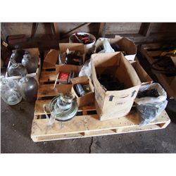 Guards, Pick-Up Teeth, Glass Bottles, Pulleys, Etc
