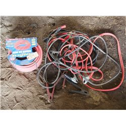 Air Hose & Booster Cables (3)