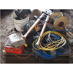 Electric Fence Related, Livestock Related, Extension Cords, Etc