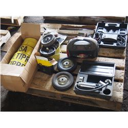 Booster Pack, Utility Wheels, Tarp, Straps, Clamps, Etc