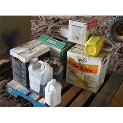 Mixed Lot of Chemicals- Start Up, Divident XL, Etc