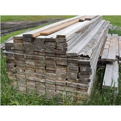 """140 TIMES THE MONEY: Lumber 1 3/4"""" X 16ft"""