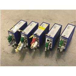 (5) HIRSCHMANN RS2-5TX RAIL SWITCH