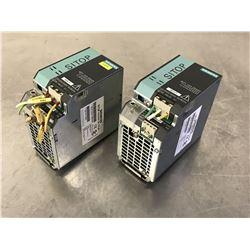 (2) SIEMENS 6EP1333-3BA00 SITOP POWER SUPPLY