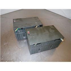 (2) SIEMENS 1P 6ES7 307-1KA00-0AA0 SIMATIC S7 POWER SUPPLY