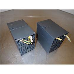 (2) SIEMENS 1P 6ES7 307-1KA02-0AA0 SIMATIC S7 POWER SUPPLY