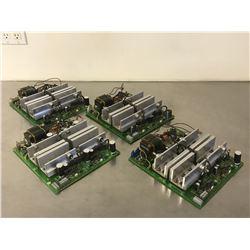 (4) SIEMENS 6RB2025-0FA01 POWER BOARD