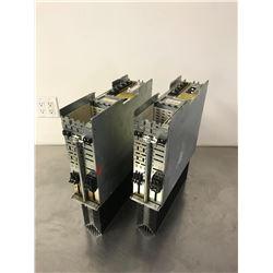 (2) INDRAMAT DDS2.1-A100-D AC SERVO CONTROLLER