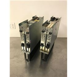 (2) INDRAMAT DDS02.1-A100-D AC SERVO CONTROLLER