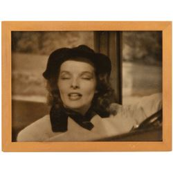 Howard Hughes personal (2) framed photographs of Katharine Hepburn from the time of their romance.