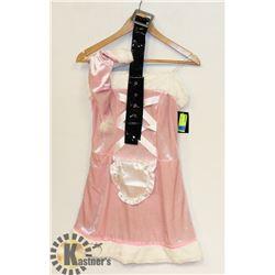 PEECABOO WOMENS REVERSIBLE  ADULT BABY PINK/ BLACK