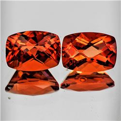 Natural Intense Reddish Orange Andesine [Flawless-VVS]