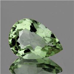 Natural Green Amethyst 12x9 MM[Flawless-VVS]