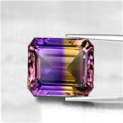 NATURAL ANAHI AMETRINE FROM BOLIVIA 13x10 MM - FL