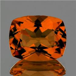 Natural Rare Madeira Orange Citrine 7x6 MM - FL