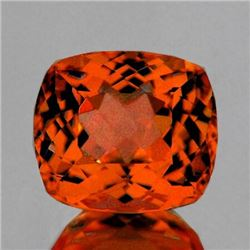 Natural Rare Madeira Orange Citrine {Flawless-VVS1)