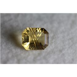 Natural Citrine 12.04 x 9.98 MM - Flawless-VVS