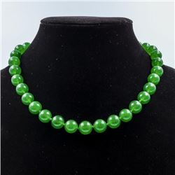 BEAUTIFUL 395 CTTW JADE QUARTZ NECKLACE