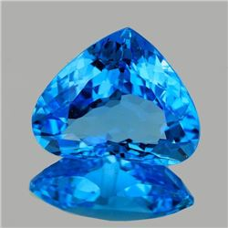 Natural Swiss Blue Topaz 16x13 MM - FL