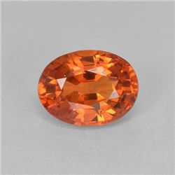 Natural Ceylone Orange Sapphire 5x4 MM