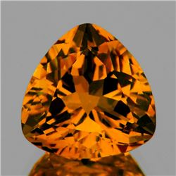 Natural Rare Madeira Golden Orange Citrine - Flawless