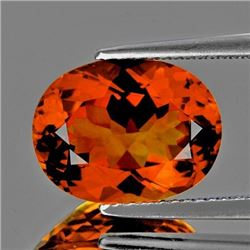 Natural Rare Madeira Orange Citrine - Flawless