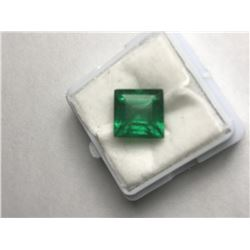 Forest Green Zambian Emerald 8.65 Cts - Certified