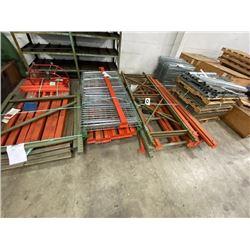 Lot of Pallet Racking