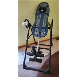 "Teeter EP-960 Inversion Table - approx 4'8"" x 6'6"" height capacity 300lb weight capacity - 49"" x 29."
