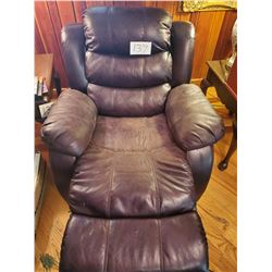 Brown leather Rocker/Reclininig Chair