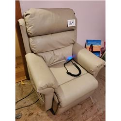 """""""Pride"""" Leather Lift Chair / Near New / All Works$1250.00 New"""