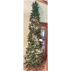 """Large Artifical Christmas Tree - approx 9't x 28""""d at base"""