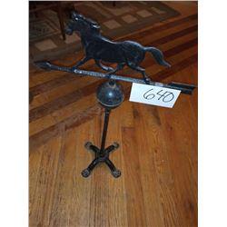 Antique Horse Weather Vane  / Cast AKA LOT 604