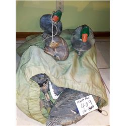 12+ PC Duck Decoys in Sack
