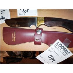 Precise Deer Slayer Knife w/ Sheath, Like-New