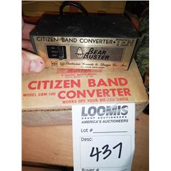 Citizens Band Converter Ten Bear Buster Model CBM-100