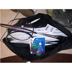 Portable Badminton Set, Like-New