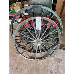 Pair of Buggy Wheels