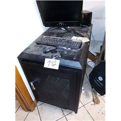 HP Server System w Cabinet on Wheels