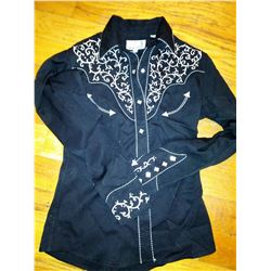 Panhandle Slim Ladies Show Blouse Size S