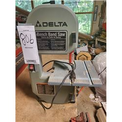Like-New Delta Bench Band Saw