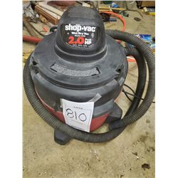 Shop Vac 2HP Wet/Dry Vac, Model #3200, Like-New