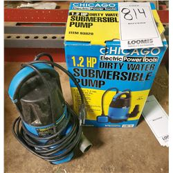 Chicago Electric 1.2 HP Dirty Water Submersible Pump