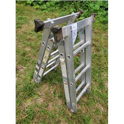 Multi Position Aluminum Ladder AKA LOT 180