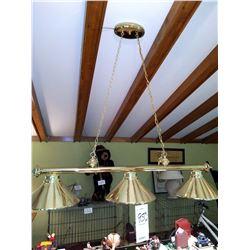 3 Light Hanging Linear Chandelier