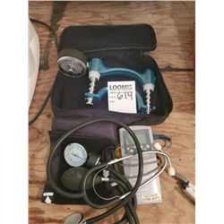 Blood Pressure Monitor w/ Carrying Case