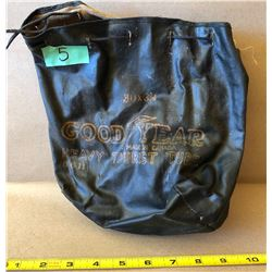 ANTIQUE GOODYEAR TUBE BAG