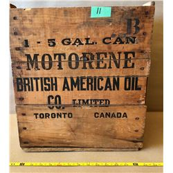 BA MOTORENE CRATE - VERY GOOD DECALS