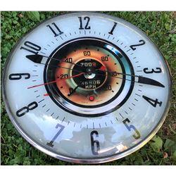 AUTOMOBILE LOOK CLOCK